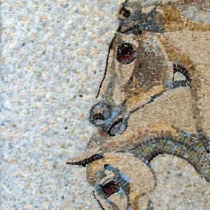 cavalli-mosaico-moderno
