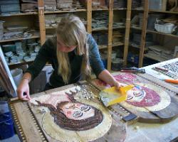 corso di mosaico - icona