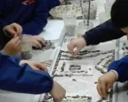 visita guidata mosaico artistico per bambini