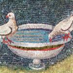 colombe mausoleo galla placidia eseguite durante il corso di mosaico bizantino