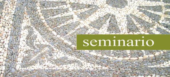 eminario mosaico a ciottoli