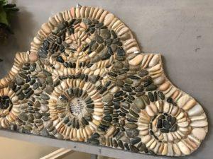l'arte del mosaico a ciottoli a TerrAmelia