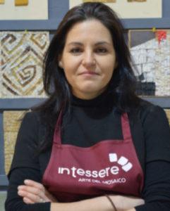Tiziana Mondini - Presidente Intessere, arte del mosaico artistico