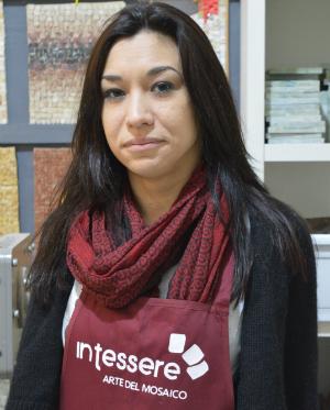 Valentina Vezzani - Vice Presidente Intessere, arte del mosaico artistico