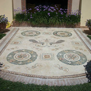 arredamento mosaico classico