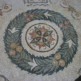 ghirlanda mosaico classico
