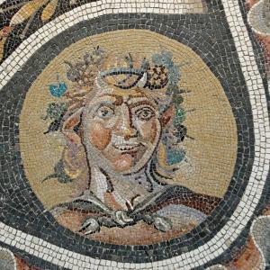 mosaico classico di palazzo massimo