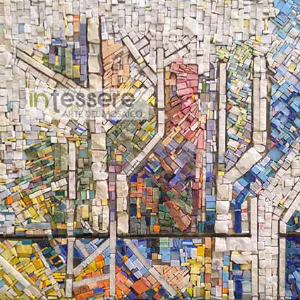 opera artistica mosaico urbano