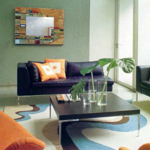 specchio-salotto-mosaic-moderno