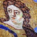 buon pastore mausoleo galla placidia eseguito durante il corso di mosaico bizantino