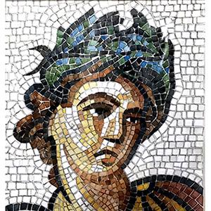 kit mosaico fai da te tardo autunno stile classico