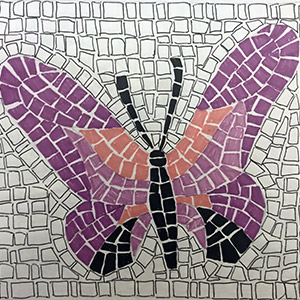 kit mosaico per bambini