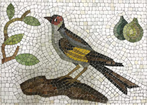 kit mosaico fai da te cardellino