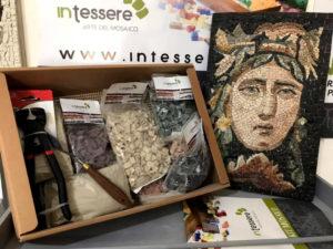 acquisto kit mosaico a casa