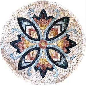 kit mosaico fai da te fiore