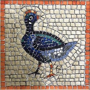 kit mosaico pavoncella