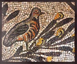 kit mosaico fai da te pernice