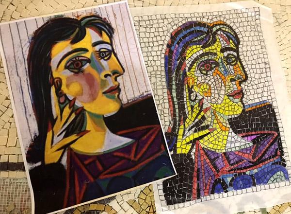 personalizzazione kit mosaico
